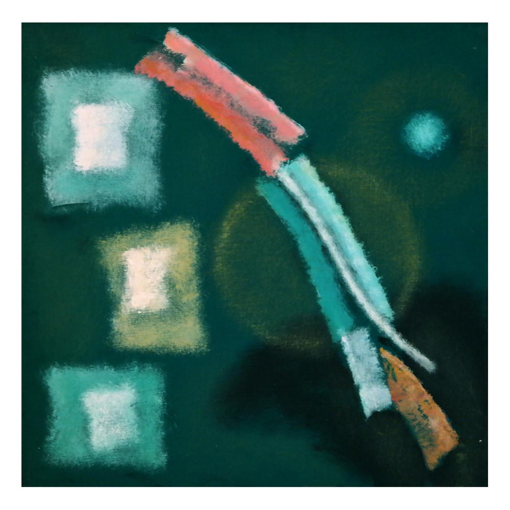 Fernando Picenni - Spazio telato di forme maculato